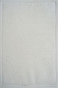 LETTERTO15, 05/2014, Etching-Blindprägedruck, 29,5 x 19,5 cm auf 39,5 x 27 cm