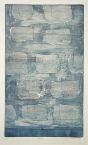 GATTA A, 11/2010, Aquatintaradierung und Strichätzung (2-Farb-Platten), 38,3 x 23 cm
