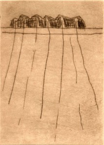 MAERKISCH, 1997-2000, Kaltnadel, 15,5 x 11 cm