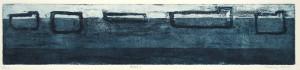 REEDE I, 11/2009, Aquatinta und Strichätzung, 8,4 x 40 cm