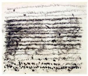 SEITE3, 2003, Monotypie, 35 x 43 cm
