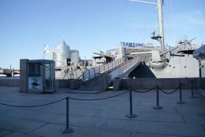 Gestern vor Heute, Panzerkreuzer Aurora vor SAMSUNG, 20.07.2014