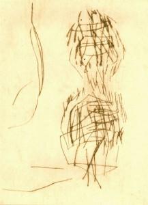 WIEPERSDORF III, 1997-2000, Kaltnadelradierung, 14 x 10,5 cm