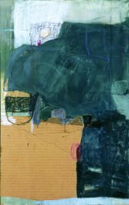 HAVEND, 1996-99, Mischtechnik auf Leinwand, 95 x 60 cm