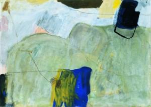 MORGEN, 1999, Mischtechnik auf Papier, 52 x 73,5 cm