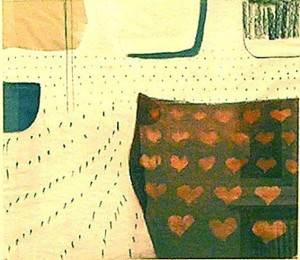 PETEREIT, 2005, Mischtechnik auf Papier, 65,5 x 74,5 cm