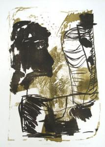 S.IMPROFIL, 05/2000, 2-Farb-Lithographie, 38 x 27 cm
