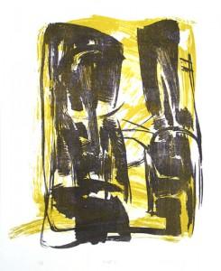 ZWEI2, 05/2000, 2-Farb-Lithographie, 31 x 26 cm
