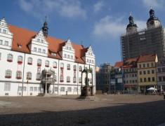 Markt, Altes Rathaus und Stadtkirche St, Marien, 03.10.2014, LWi-0009