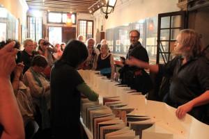 Buchvorstellung im Centro Internazionale della Grafica in Venedig, 18.10.2014 - Foto: A. Röhl, F. Favero