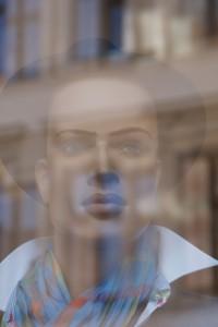 Schaufenster-Porträt, Wittenberg, Coswiger Str., 03.10.2014, LWi-0108