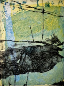 Karin Tiefensee, Es werde Licht, 2014, Mehrfarbentiefdruck, 21 x 16 cm