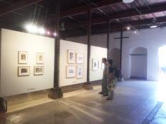 E. Hartwig betrachtet Toledos Sammlungsausstellung, San Agostino, 30.07.2017