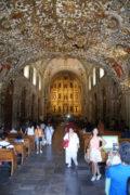 Kircheninneres, Santo Domingo de Guzman, Calle de Macedonio Alcala, Oaxaca-Stadt, 29.07.2017