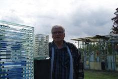 Norbert Horenk und Glasobjekte, Oderdammstr, 28, Güstebieser Loose, KunstLoose Tage 2015