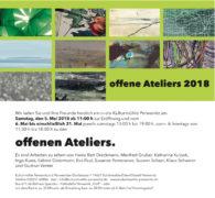 Offene Ateliers 2018, Kulturmühle Pewernitz