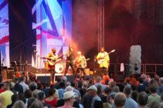 Debademba auf der Burgterrassen-Bühne, Rudolstadt, 07.07.2018