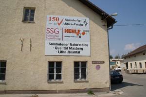 Lithographiestein-Werk, SSG Solnhofen