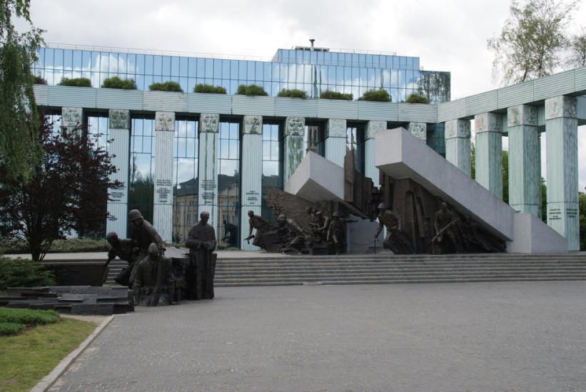 Denkmal für den Warschauer Aufstand 1944, pl, Krasinskich, Neustadt, 15.05.2016
