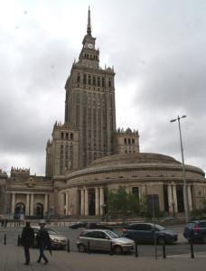 Kongreßhalle, Kulturpalast, Warschau-Centralna, 14.05.2016