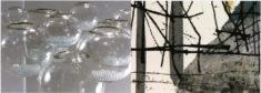 N. Horenk, Glasobjekte, und K. Tiefensee, Graphik, Karte Galerie Grünstrasse