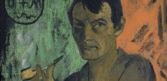 Otto Mueller, Selbstbildnis mit Pentagramm, um 1924 (Detail), (c) Von der Heydt-Museum Wuppertal / Foto: Antje Zeis-Loi, Medienzentrum Wuppertal