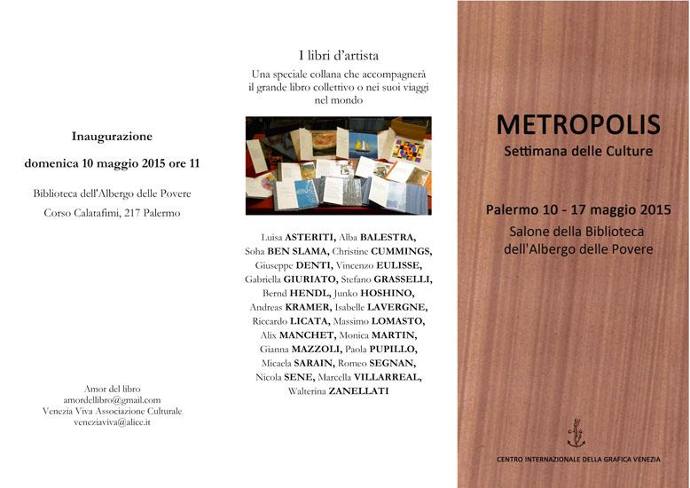 10.05.2015, Einladung / Invito Palermo Esterno