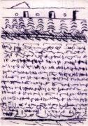 BAHIA, 04/2018, Kaltnadelradierung, 13,2 x 9,2 cm, sign. Ie.a.