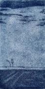 GROSSERHIMMEL, 05/2019, Aquatinta mit Strichätzung, 15,8 x 8 cm, sign. e.a.
