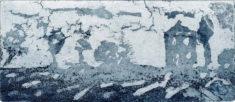 HINLS, 06/2021, Aquatinta in Blau, 6,1 x 14,2 cm, sign. I e.a.