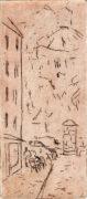 RYKE, 05/2021, Strichätzung, 14,2 x 6,1 cm, sign. I e.a.