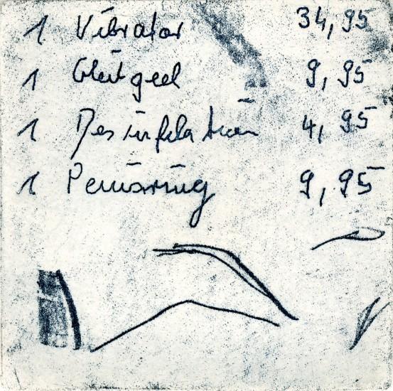 VIBRATOR, 05/2012, Vernis mou, 8,8 x 8,8 cm