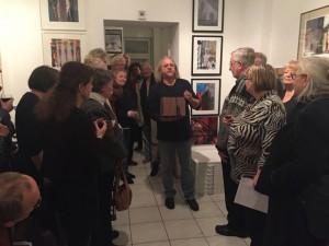 Andreas Kramer redet zur Eröffnung am 08.01.2016,   Foto: I. Neumann