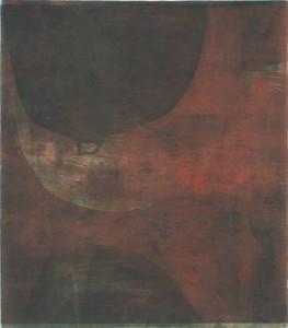 B106, 10/2015, 4-Farbplatten-Aquatinta mit Strichätzung, geschabt und Kaltnadel und Hochdruck, 36,5 x 32cm