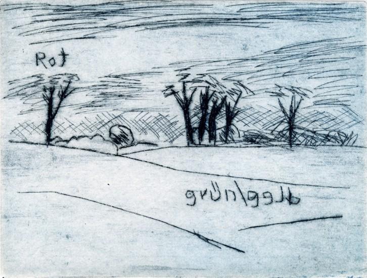 GARZIN, 05/2015, Kaltnadelradierung, 11 x 14,5 cm
