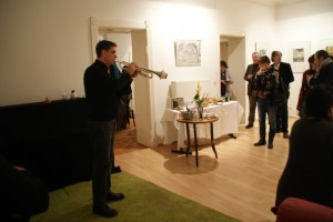 Nikolaus Neuser, Trompete, und Gäste, 15.01.2016, Foto: B. Lau
