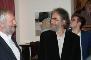 Eberhard Hartwig dankt Thomas Schubert, Foto: B. Lau