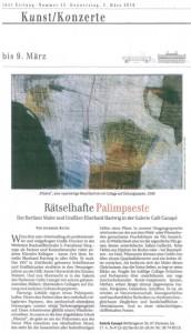 Berliner Zeitung, 03. März 2016, Ausstellung E. Hartwig