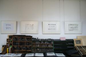 Monotypien und Lithographien von Eberhard Hartwig