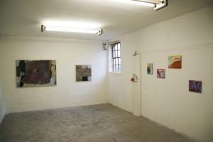 Präsentation mit E.Hartwig, STADTRANDGARTEN II und NAHEB, in der Galerie BildPlus