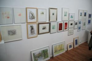 Präsentation in der Galerie grünstrasse