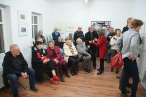 Gäste der Ausstellungseröffnung, 10.11.2016
