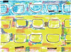 E. Hartwig, RHYTHM, 08/2009, 4-Farb-Lithographie, 28,5 x 38,2 cm randlos