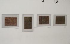 Ausstellungsansicht, Arbeiten von E. Hartwig