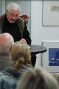 U. kk. Köhler liest, Ausstellungseröffnung galerie grünstr., 23.11.2017