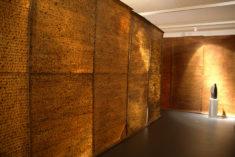 """Rauminstallation """"Archiv . Streng geheim!"""" . AUFZEICHNUNGEN . BRIEFE, Ausschnitt, Museum Kulturquartier Neustrelitz"""