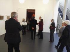 Im Foyer, vor dem Installationsraum, Museum Kunstquartier Mecklenburg-Strelitz, 04.03.2018, Foto: Axel Schöne