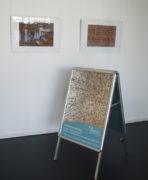 """Zwei Arbeiten """"2017-10-05"""" im Foyer, Museum Neustrelitz"""