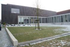 Kulturquartier Mecklenburg-Strelitz in Neustrelitz, Hofseite, 10.02.2018