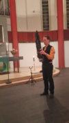 Gert Anklam spielt Sheng, Foto: B. Hauschild